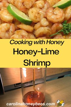 Combine the taste of shrimp and honey with this quick easy dish.  Great shrimp taste without deep frying!   #carolinahoneybees #cookingwithhoney #shrimprecipe