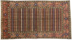 Antique Hamadan Oriental Rug 4 x 8 - Esmaili Rugs and Antiques Open Entryway, Vine Border, Narrow Living Room, Grand Foyer, Mid-century Modern, Contemporary, Aesthetic Movement, Floral Motif, Persian Rug