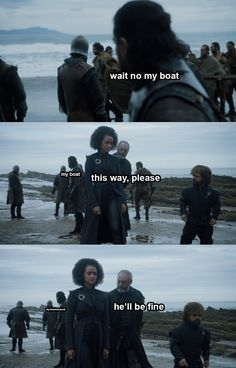The real tragedy is about Jon and his missing boat.