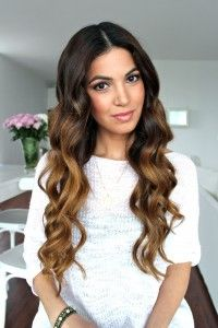 Soft Bouncy Curls Tutorial | Negin Mirsalehi