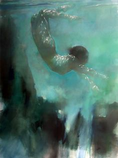 ♒ Mermaids Among Us ♒ art photography & paintings of mythical water maidens - Effervescent - Bill Bate Figure Painting, Painting & Drawing, Underwater Art, Water Nymphs, Under The Sea, Traditional Art, Painting Inspiration, Watercolor Art, Watercolour Paintings