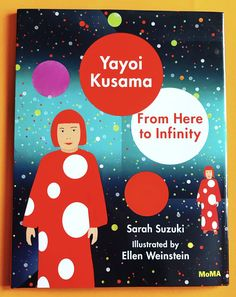 I am in love with this new children's book about Yayoi Kusama. The illustrations are gorgeous. I love Yayoi's style and her artwork. Known for her polka dot installations, polka dot … Yayoi Kusama, Arts Integration, Middle School Art, Book Projects, Leaf Art, Museum Of Modern Art, Moma, Elementary Art, Art Blog