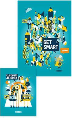 Get Smart by Patswerk, via Behance