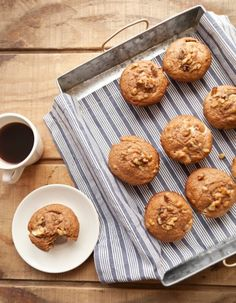 Better Breakfast: Nutty Apple Muffins - Whole Living Daily : Whole Living