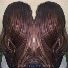 Dark brown hair with auburn highlights hair styles etc 90 balayage hair color ideas with blonde brown and caramel highlights pmusecretfo Gallery