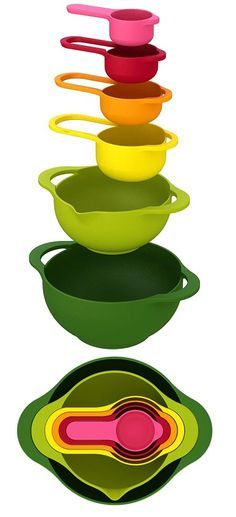 Nesting Set (Kitchenware) so colorful and fun! Perhaps you may like this other entertaining kitchen gadget too ►►► http://amzn.to/1JVrRur