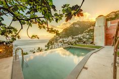 Villa Vicere is a brand new luxury private villa set above the lively and chic town of Positano, rising at about 150 steps from street level.