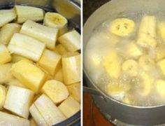 Ferva bananas antes de você deitar, beba o líquido e isto é o que vai acontecer! - Ideal Receitas