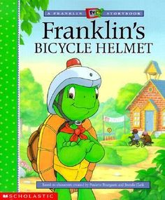 Franklin can hardly wait to show off his cool new bicycle helmet at the Bike Safety Rally. But before the rally, he overhears Fox and Beaver making fun of his helmet. Now he's ashamed! Some words of encouragement from Rabbit help him put things in perspective -- he likes the helmet, and he's going to wear it!