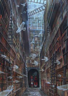 Inspirationally Sane By Art And Music Dark Fantasy, Fantasy Concept Art, Fantasy Artwork, Fantasy Places, Fantasy World, Fantasy Inspiration, Story Inspiration, Fantasy Kunst, Anime Scenery