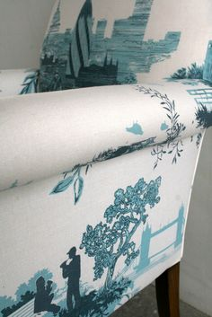 Timorous Beasties Fabric - London Toile. Lovely