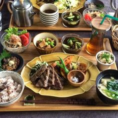 Japanese Dinner, Japanese Food, Asian Recipes, Healthy Recipes, Ethnic Recipes, Breakfast Lunch Dinner, Food Places, Healthy Mind, Chinese Food