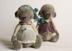 Teddy Bear Vera - Artist Teddy Bears - Cottony Stuffed Toy - Stuffed  Animal - Mohair Soft Toys