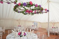 Styling a wedding venue can be a nightmare for some brides, especially when styling a marquee. Lindsey Hunter of Get Knotted shares some of her tips for styling a marquee. Wedding Ceiling Decorations, Marquee Decoration, Table Decorations, Bohemian Wedding Theme, Outdoor Wedding Inspiration, Wedding Ideas, Marquee Wedding, Wedding Venues, Most Popular Flowers