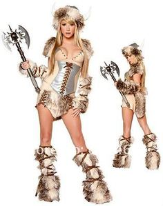 Sexy Viking Costume for women my hen costume???? ... Different or just plain stupid ?!?!?