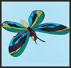 Orinithoptera Alexandrae Butterfly Free Paper Model Download - http://www.papercraftsquare.com/orinithoptera-alexandrae-butterfly-free-paper-model-download.html