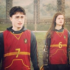 Ginny & Harry- why is 6 afraid of 7? because 7 is the chosen one!