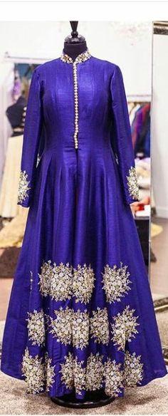 #Buyonlineanarkalisuit #BollywoodAnarkalidesign #Latestwesterndresspatterns #Stylishwesterndressonline # Maharani Designer Boutique  To buy it click on this link :  http://maharanidesigner.com/Anarkali-Dresses-Online/lehenga-online/ Rs-18000. Fabric- semi silk. Hand work  for any more information contact on WhatsApp or call 8699101094 Website www.maharanidesigner.com Maharani Designer Boutique's photo.