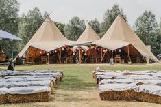 Jenny and Callum's Bright and Summery Fun Festival Themed Wedding by Matt Wing - Boho Weddings For the Boho Luxe Bride Woodland Wedding Venues, Wedding Venues Uk, Tipi Wedding, Marquee Wedding, Wedding Blog, Wedding Ideas, Nautical Wedding, Wedding Vows, Farm Wedding