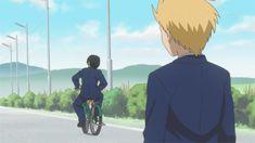 Daily Lives of High School Boys ~~ ahaha you can't even ride a bike XD School Boy, School Humor, High School Funny, School Rumble, Otaku, Danshi Koukousei No Nichijou, Sanrio Danshi, Fairy Tail Funny, Love Stage