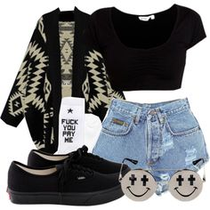 """I do not allow things to cloud my vision."" by cheerstostyle on Polyvore"