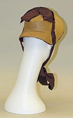 1882 Promenade bonnet