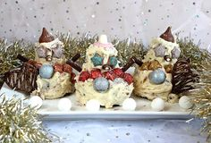 Gluten Free Alchemist: Miss GF Makes #7 - Snowman Cakes (made from gluten free cake leftovers)