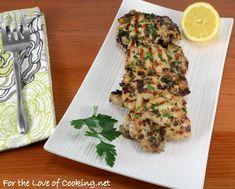 Herb-Lemon and Garlic Chicken Thighs