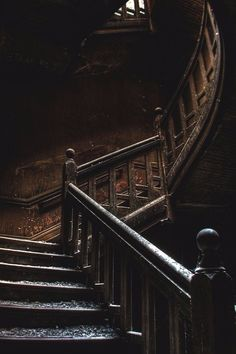 Interior Color Black Dark Interior Staircase Milk