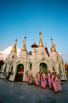 Shwedagon Pagoda . Myanmar
