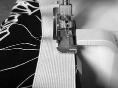 The Makers' Journal: HOW TO make a rolled elastic waist