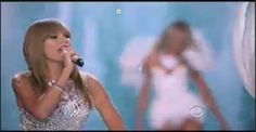 So I conclude the #VSFashionShow with #taylorswift #KnewYouWere  @Victoria's Secret  #CBS
