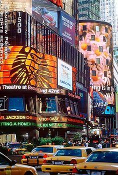 Broadway Signs, Times Square - http://andrewprokos.com/photos/new-york/