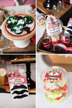 Modern Italian Little Chef Pizza Party Details