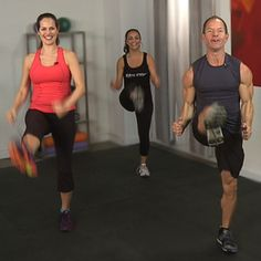 10-Minute Abs Workout With Celebrity Trainer Teddy Bass- I really liked this one.