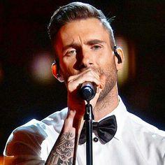 Adam Levine Lost Stars 2015 Oscars