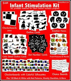 "Free Infant Stimulation Kit for Glenn Doman ""How Smart is Your Baby"" Program"
