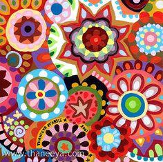 inspiration for radial designs