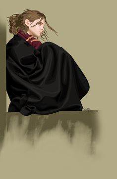 Awesome Vector  Hermione Harry Potter Art