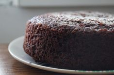 Eggless Chocolate Cake Recipe in Pressure Cooker - How to make Eggless Cake without Oven - Step by Step Photos - Blend with Spices Chocolate Cake In Cooker, Eggless Chocolate Cake, Chocolate Glaze, Cake Recipes, Dessert Recipes, Desserts, Date Cake, Steamed Cake, Custard Cake