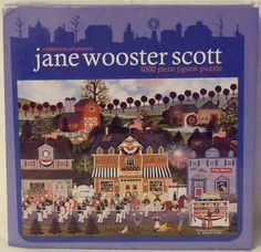 "CEACO Jane Wooster Scott ""Celebration of America"" 1000 Piece Jigsaw Puzzle--NEW! #Ceaco"