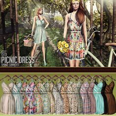 GizzA - Picnic Dress Colors   Flickr - Photo Sharing!