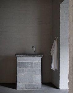 Dom Hans Van der Laan, Abbey of Vaals, Minimalist Architecture, Architecture Old, Concrete Interiors, Concrete Forms, Macau, Bathroom Interior, Commercial, Rustic, Garden