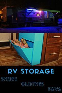 Easy RV Organization Solutions for your RV Life — Exploring the Local Life - RV Storage Solutions Camping Checklist, Rv Camping, Camping Hacks, Glamping, Camping Stuff, Camping Outdoors, Family Camping, Camper Storage, Trailer Storage