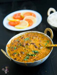 This kidney bean coconut curry is healthy nutritious comfort food in a bowl. Spiced with delicate Indian spices and creamy coconut cream. This simple, easy and effortless recipe can be made with canned or precooked kidney beans and can be prepared in less than 15 minutes. Serve it over steamed rice or with some crusty fresh baguette.