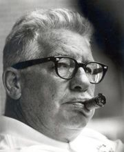 Art Rooney.  He lived on Lincoln Avenue in North Side of Pgh.  He was a wonderful man.