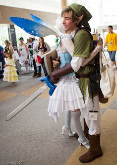 Link and Navi, so much cute !