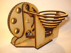 Laser Cut Marble Machine by msraynsford on Etsy, $25.00