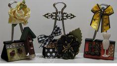 binder clips - Homemade Cards, Rubber Stamp Art, & Paper Crafts - Splitcoaststampers.com