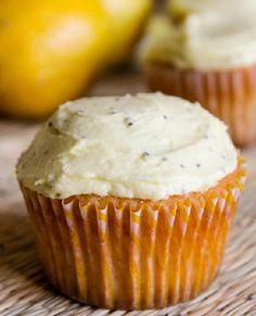 Low FODMAP Recipe and Gluten Free Recipe - Lemon & poppyseed cupcakes…